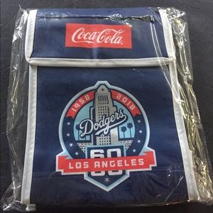 Handbags - NEW! Dodgers Lunch Bag Cooler SGA 9/3/18 Coca Cola